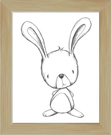 bunny bw